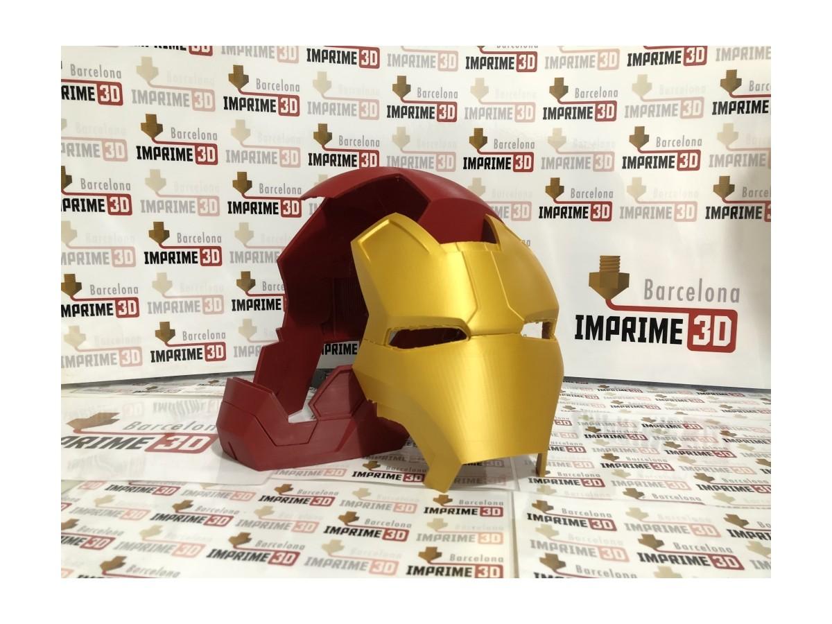 Casco Iron Man mk42