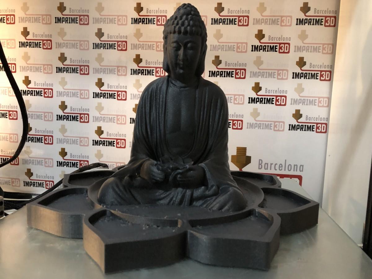 Buda en flor