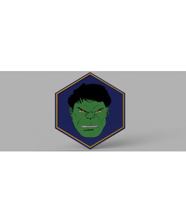 Placa Hulk