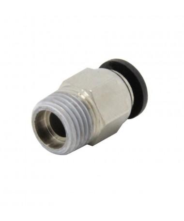 Racor tubo 4mm pc4 m10