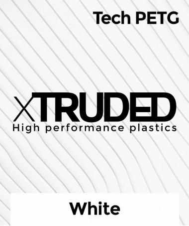 xTRUDED Tech PETG White